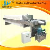 Plaque en acier inoxydable et le châssis de la membrane de laboratoire petit filtre Appuyez sur