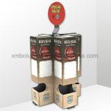 Présentoir utilisé par commerce de détail de compteur de carton de crochet pour des jouets