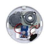Крытый детектор дымовой пожарной сигнализации домашней обеспеченностью беспроволочный с ABS