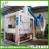Máquina em forma de caixa do Sandblasting do elevado desempenho - equipamento de sopro do vácuo