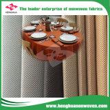 Nonwoven Eco-Friendly de 100% PP para o Tablecloth com PONTO