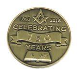 Custom 3D de militares de alta calidad de latón viejo reto Coin
