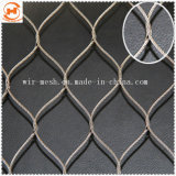 Декоративные трос из нержавеющей стали используется сетка