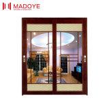 Chinesische Art-Qualitäts-Glasschiebetür für Esszimmer