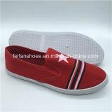 Оптовая торговля женщинами Canvas колодки ЭБУ системы впрыска для отдыхающих обувь для леди (PY0315-12)