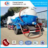 6 Wheelers сточных вод всасывающий погрузчик, 8000литров пылесос погрузчик, резервуар для сбора сточных вод погрузчика