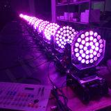 De professionele LEIDENE van de Was 36X12W RGBW Bewegende HoofdVerlichting van DJ