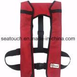 Giubbotto di salvataggio gonfiabile di galleggiabilità 330lbs CISLM