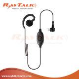 Crochet d'oreille de forme de C avec le microphone intégré de PTTs pour Dp2000/2400/2600