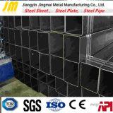 炭素鋼の溶接された黒く及び熱い電流を通された正方形の管及び管の鋼管の黒い正方形の管または正方形の管の/Steelの長方形の管