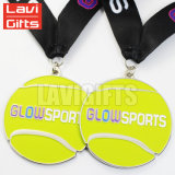 Medalla de encargo caliente del deporte del balonmano del metal del precio de fábrica de la alta calidad de la venta