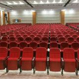 단순한 설계 빨간 직물 덮개 교회 의자