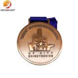 Medaille des China-Fabrik-Abnehmer-Entwurfs-weiche Decklack-Metall3d