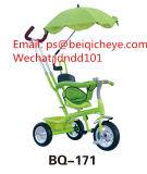 Велосипед несущей младенца колес несущей 3 трицикла младенца зонтика для сбывания