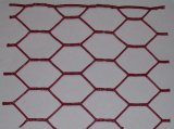 六角形の穴の形および電流を通された鉄ワイヤー物質的な六角形の金網