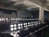 4 Köpfe 4*100W PFEILER LED Blinder-Licht-Publikums-Licht des Blinder-2in1 Warmwhite/Coolwhite LED für Film und Fernsehen