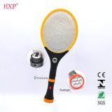 Swatter de mosca recarregável da alta qualidade com lanterna elétrica do diodo emissor de luz