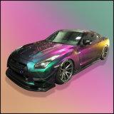Colorear los pigmentos automotores de la pintura del camaleón del desplazamiento