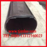 Tubulação oval do aço inoxidável (304 316 316L 304L)