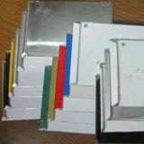 Spiegel-Oberflächengold und Silber farbiger Aluminiumstreifen für Kanal-Zeichen