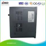 Inversor variable trifásico del mecanismo impulsor de la frecuencia de la entrada de información 1.5kw 2HP VFD de Sako 380V para el control de velocidad del motor