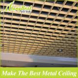 Grade de alumínio do teto suspendido da grão de madeira arquitectónica