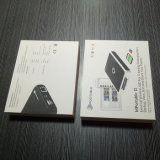 Упаковывать коробки подарка картона изготовленный на заказ печатание белый