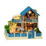 공장 교육 장난감을%s 가진 도매 나무로 되는 인형 집 Handmade 선물