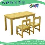 مدرسة صلبة خشبيّة أثر قديم أطفال مكتب مزدوجة ([هغ-3904])