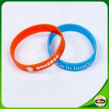 Kundenspezifischer Firmenzeichen-SilikonWristband mit verschiedenen Arten