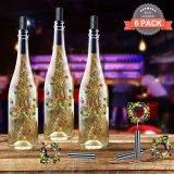 ワイン・ボトルストッパー鐘が付いている電池式の銅線ストリング