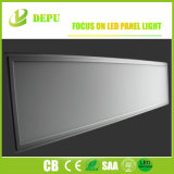 40W 1200x300 Panel LED Empotrables luz con 3 horas de batería de emergencia, color blanco cálido