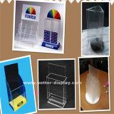 卸し売り明確なプラスチックアクリルの印のホールダー8.5 x 11