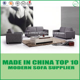 アメリカの現代居間ファブリック部門別のソファーの椅子