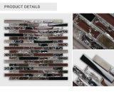 Mattonelle di mosaico il più in ritardo progettate di Crackle del commercio all'ingrosso miste con Glass&Metal