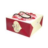 Custom Print мелованной бумаги свадьбы подарок пакет