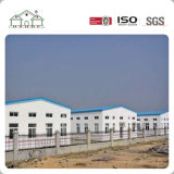 Construcción de viviendas prefabricada de la estructura de acero del bajo costo como almacén/taller/oficina/fábrica