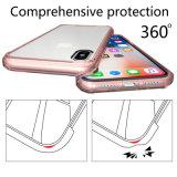 Цветная печать для изготовителей оборудования противоударная корпус для iPhone X 100% установите ЭБУ подушек безопасности четкие тонкие телефон случае оптовых потребителей электроэнергии