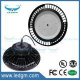 Indicatore luminoso industriale del UFO del FCC 130lm/W 80With100With120With150With200With240W LED di RoHS del Ce dell'UL con il grande dissipatore di calore