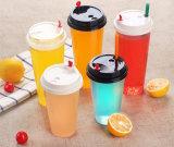 처분할 수 있는 플라스틱 음료 컵의 주문 로고 고품질 플라스틱 컵