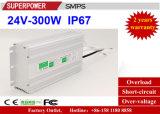 Alimentazione elettrica impermeabile costante di commutazione di tensione 24V 300W LED del driver del LED IP67