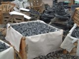 G684 Basalt Getuimelde Kerbstone van de Stoeprand Straatsteen