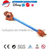 子供Staitoneryのための動物の消す物の鉛筆の上層