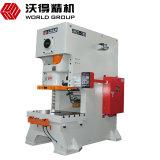 Tipo Jh21 do mundo máquina do perfurador da imprensa de potência do selo do metal de folha de 100 toneladas
