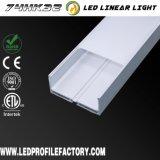 Perfil de aluminio del LED, acoplados de aluminio inferiores del perfil