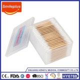 Tampone di cotone di legno personalizzato fabbrica del Rod del pacchetto della Cina