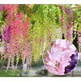 Comercio al por mayor Seda artificial Wisteria boda flor