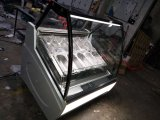 卸し売りGelatoのアイスクリームのキャビネットの表示か冷却装置フリーザー