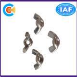 Acciaio al carbonio di DIN/ANSI/BS/JIS/noce di farfalla messa traversa di acciaio inossidabile della vite dell'acciaio inossidabile di esagono