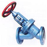 Tipo alinhado PTFE/PFA válvula de Y de globo (J45F)